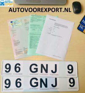 auto exporteren